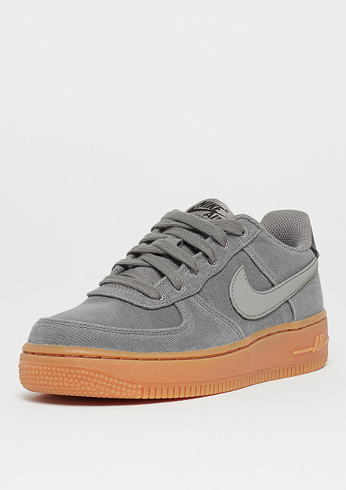 NIKE Air Force 1LV8 (GS) flat/pewter/gum med brown