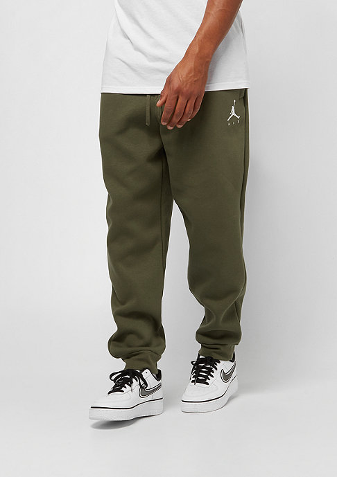 JORDAN Jumpman Fleece olive canvas/white