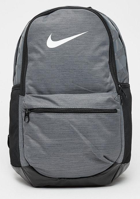 NIKE Brasilia M Training Backpack flint grey/black/white
