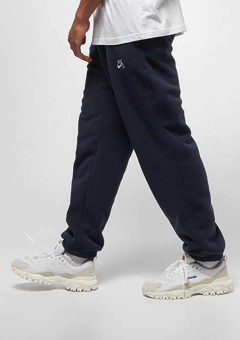 NIKE SB Polartec Fleece Pant obsidian/white