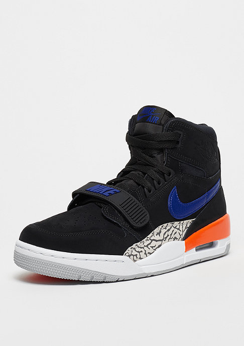 Jordan Air Jordan Legacy 312 Knicks black/rush blue-brilliant orange