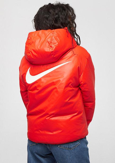 NIKE NSW Syn Fill Jacket Rev habanero red/white