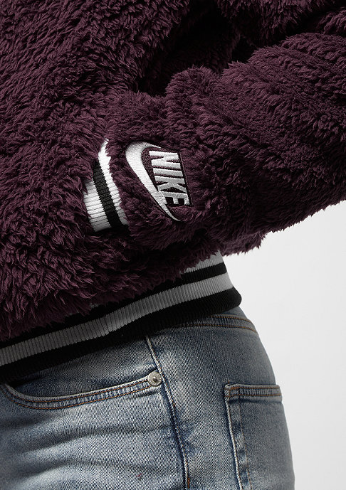 NIKE NSW Bomber Wolf burgundy crush/sail/white