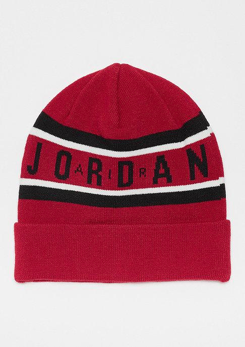 JORDAN Jordan Air Cuffed Beanie gym red