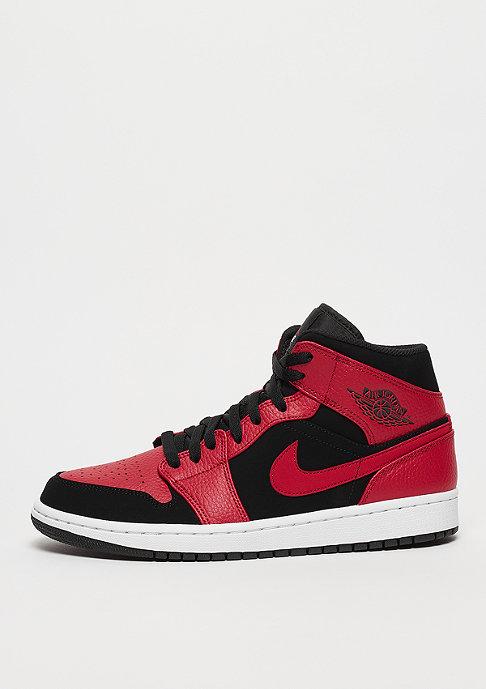 JORDAN Air Jordan 1 Mid  black/gym red/white