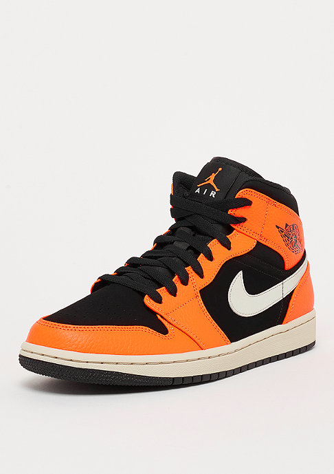 JORDAN Air Jordan 1 Mid  black/cone/light bone