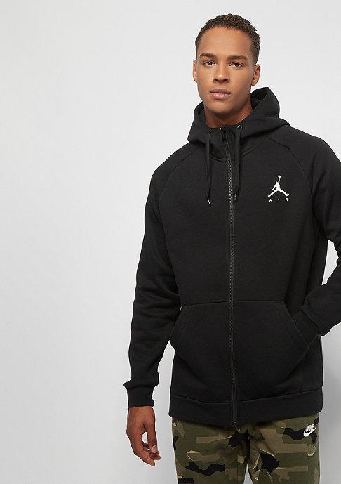 Jordan Jumpman Fleece black white