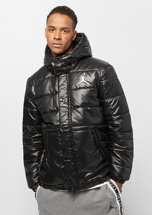 JORDAN Jumpman Puffer Jacket black black white