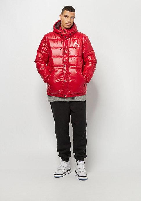 JORDAN Jumpman Puffer Jacket gym red burgundy crush white