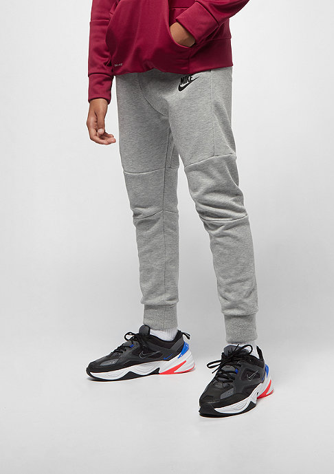 NIKE Junior B NSW TCH FLC dk grey heather/black/black