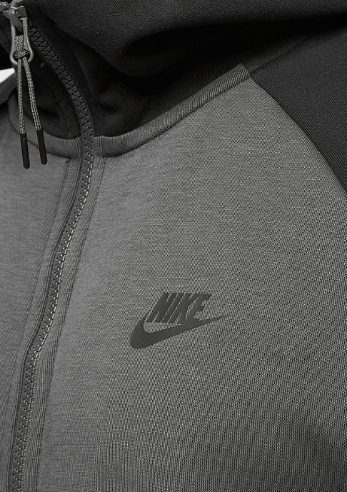 NIKE Tech Fleece FZ anthracite/black/black