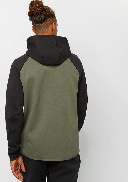 NIKE Tech Fleece FZ twilight marsh/black/black