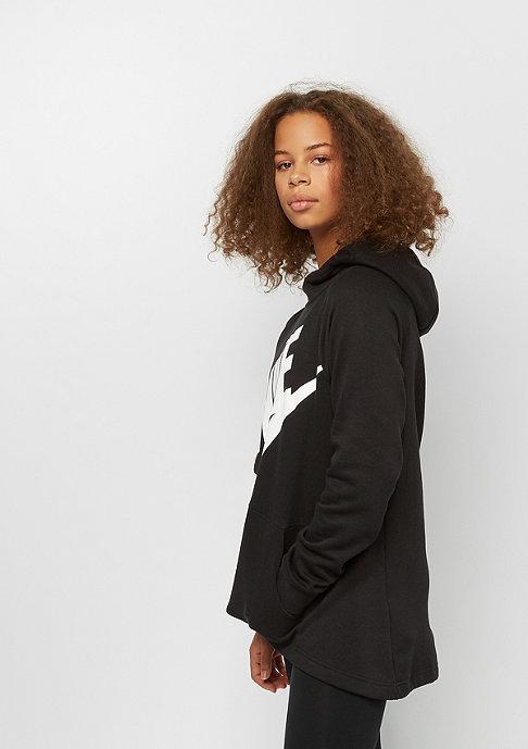 NIKE G NSW HOODIE black/black/white