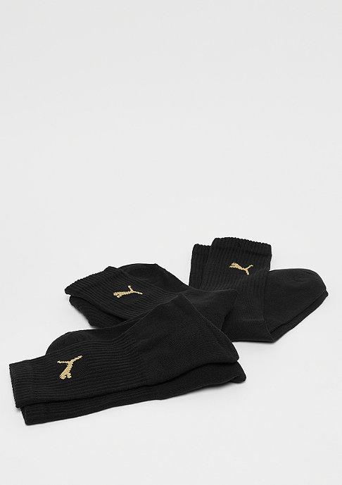 Puma Sport Crew 3P black/gold