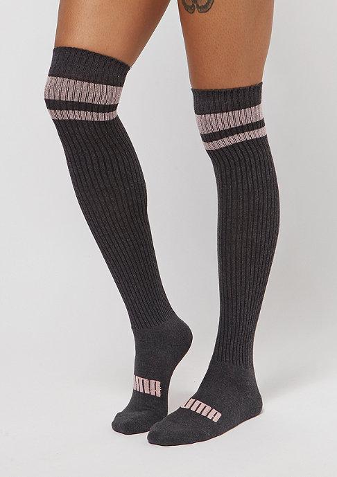 Puma Kneehigh Lurex 1P light pink/dark grey