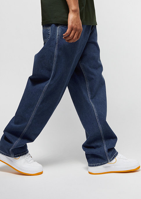 Carhartt WIP Simple Pant blue dark stone washed
