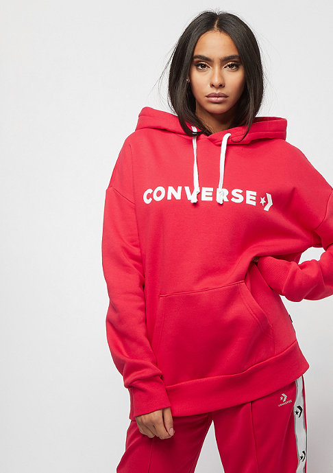 Converse Chevron OVersized cherry red