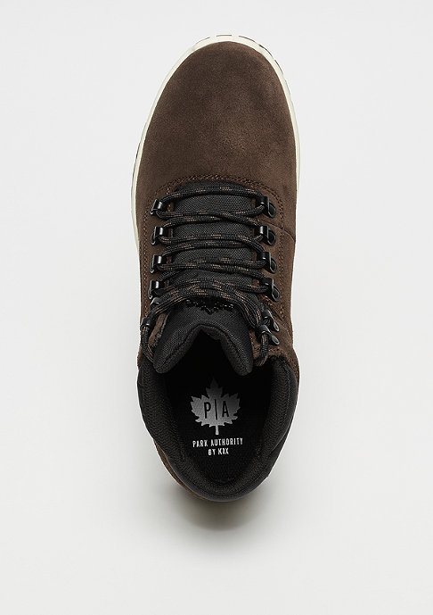 Park Authority by K1X H1ke Territory dark brown/black/dark gum