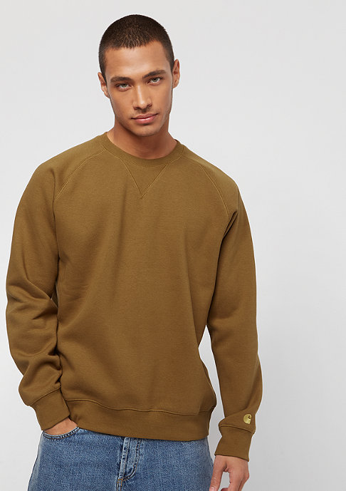Carhartt WIP Chase hamilton brown / gold