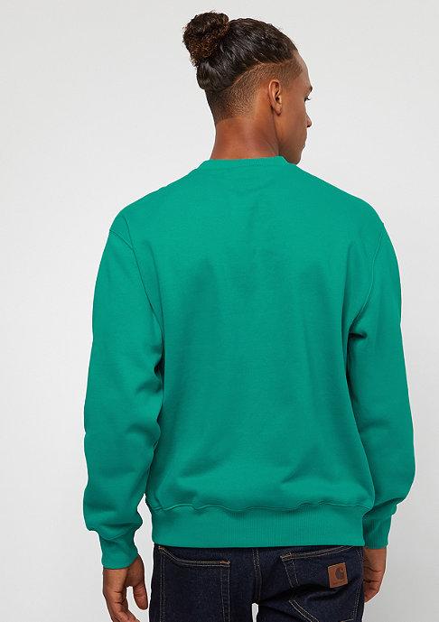 Carhartt WIP Sweatshirt cauma/ white