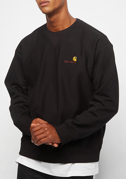 Carhartt WIP American Script Sweatshirt black