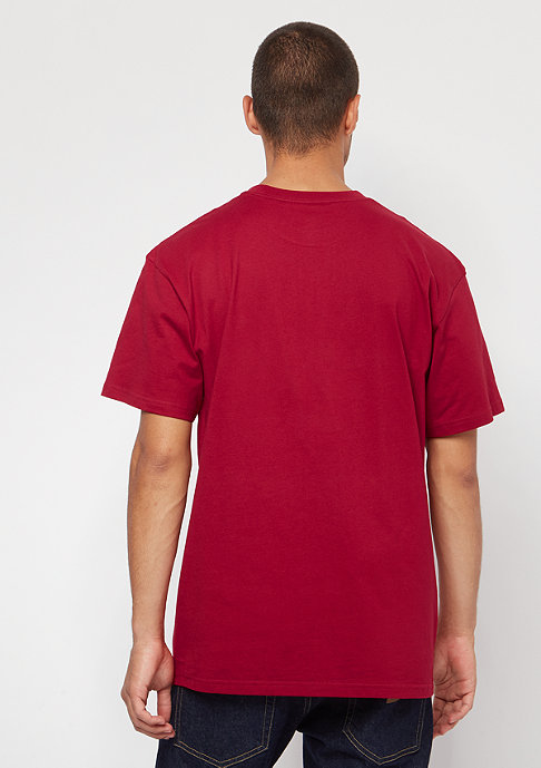 Carhartt WIP S/S Chase blast red/gold