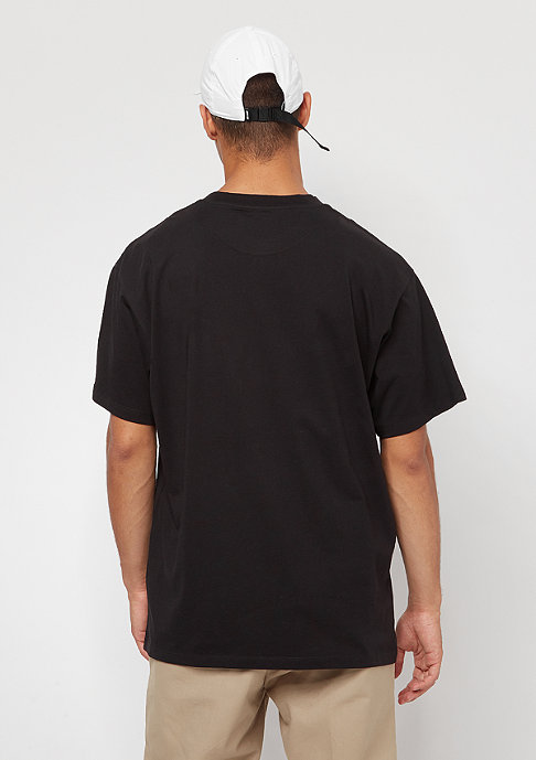 Carhartt WIP S/S Script Embroidery black/white
