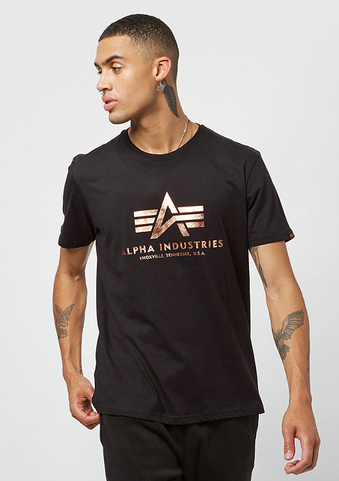 Alpha Industries Basic black/gold