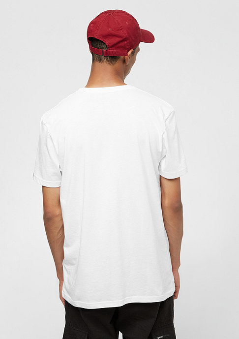 Alpha Industries Basic Small Logo white