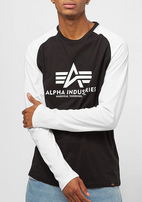 Alpha Industries Basic LS black/white camo