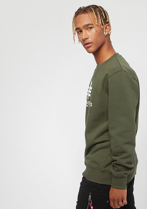 Alpha Industries Basic Sweater dark green