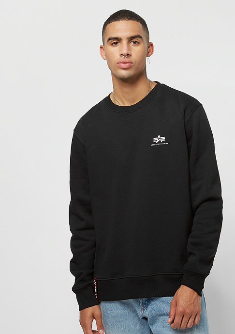 Alpha Industries Basic Sweater Small Logo black