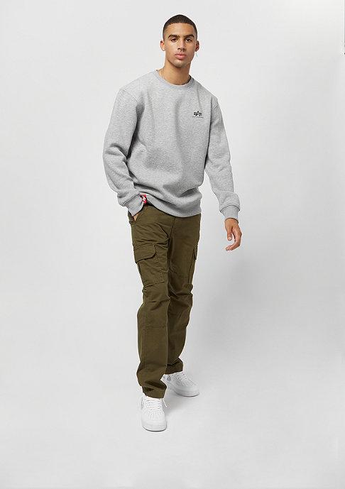 Alpha Industries Basic Sweater Small Logo grey heather