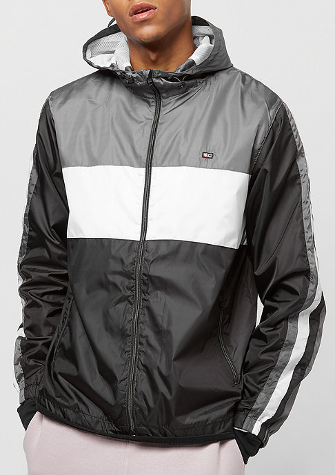Southpole Color Block Windbreaker black