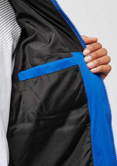 Urban Classics Hooded 2-Tone Puffer bright blue/black