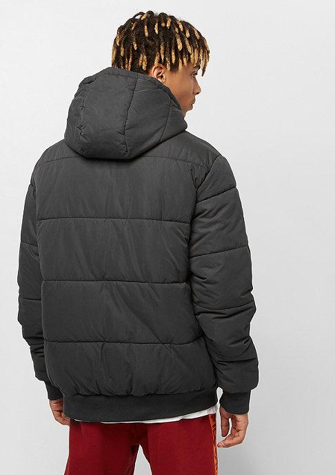 Urban Classics Hooded Peach Puffer black