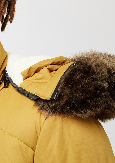 Urban Classics Hooded Faux Fur goldenoak