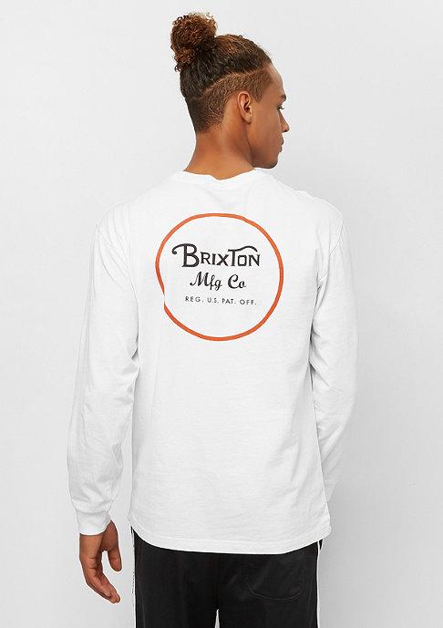 Brixton Wheeler II LS STT white/orange