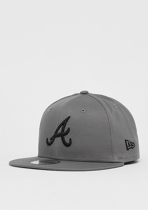 New Era 9Fifty MLB Atlanta Braves Essential storm gray/black