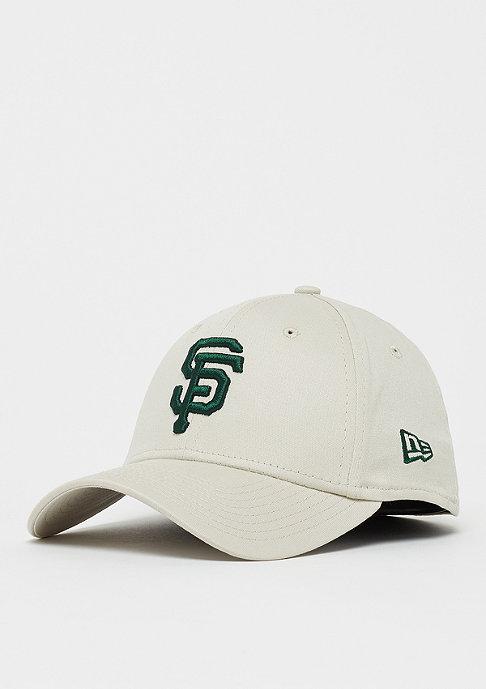 New Era 39Thirty MLB San Francisco Giants Essential wheat/dark green