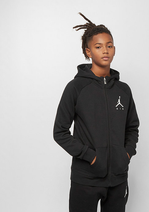 JORDAN Junior Jumpman Fleece FZ black