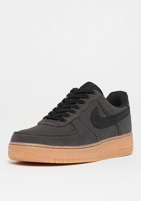 NIKE Air Force 1 '07 LV8 black/black/gum med brown