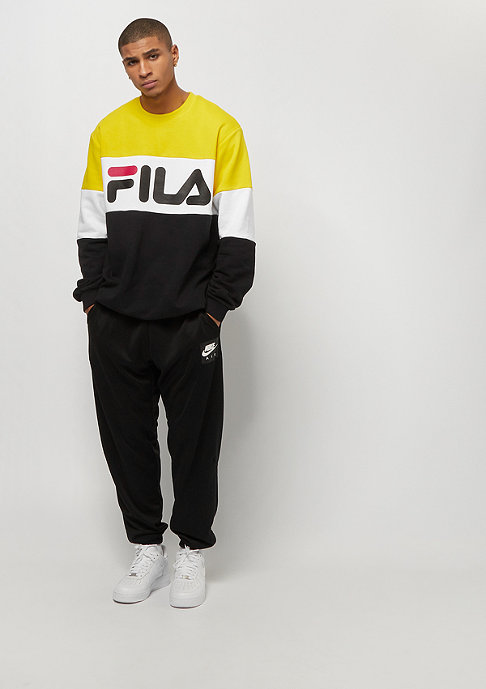 Fila Urban Line Crew Straight Blocked black/empire yel