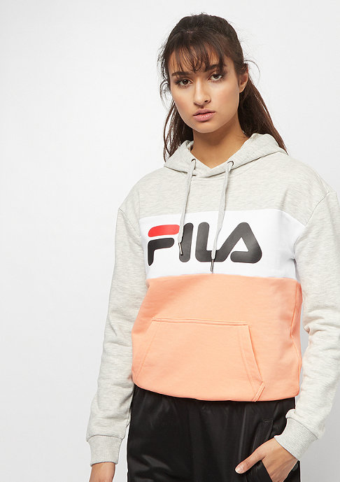 Fila FILA Urban Line Hoodie WMN Lori Sweat light grey, salmon,bri