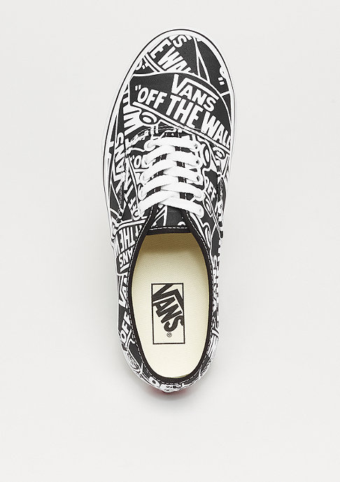 VANS UA Authentic OTW repeat black/true white