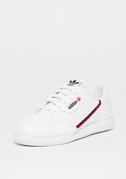 adidas Continental 80 J ftwr white/scarlet/collegiate navy