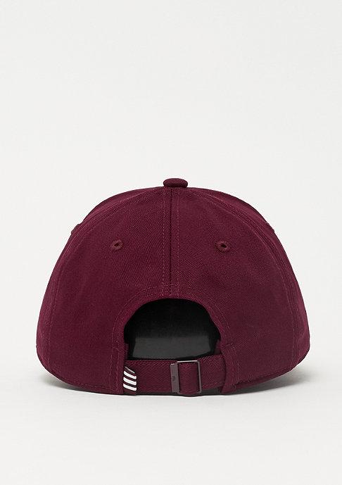adidas Baseball Cap Classic Trefoil maroon/white