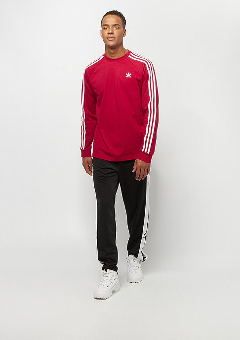 adidas 3-Stripes LS T power red