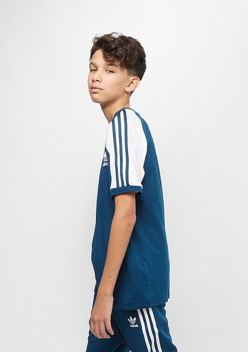 adidas Junior 3 Stripes legend marine/white