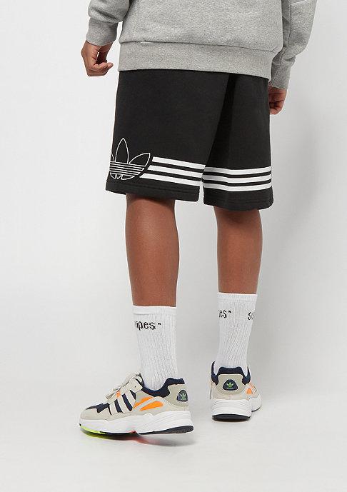 adidas Outline Shorts black/white
